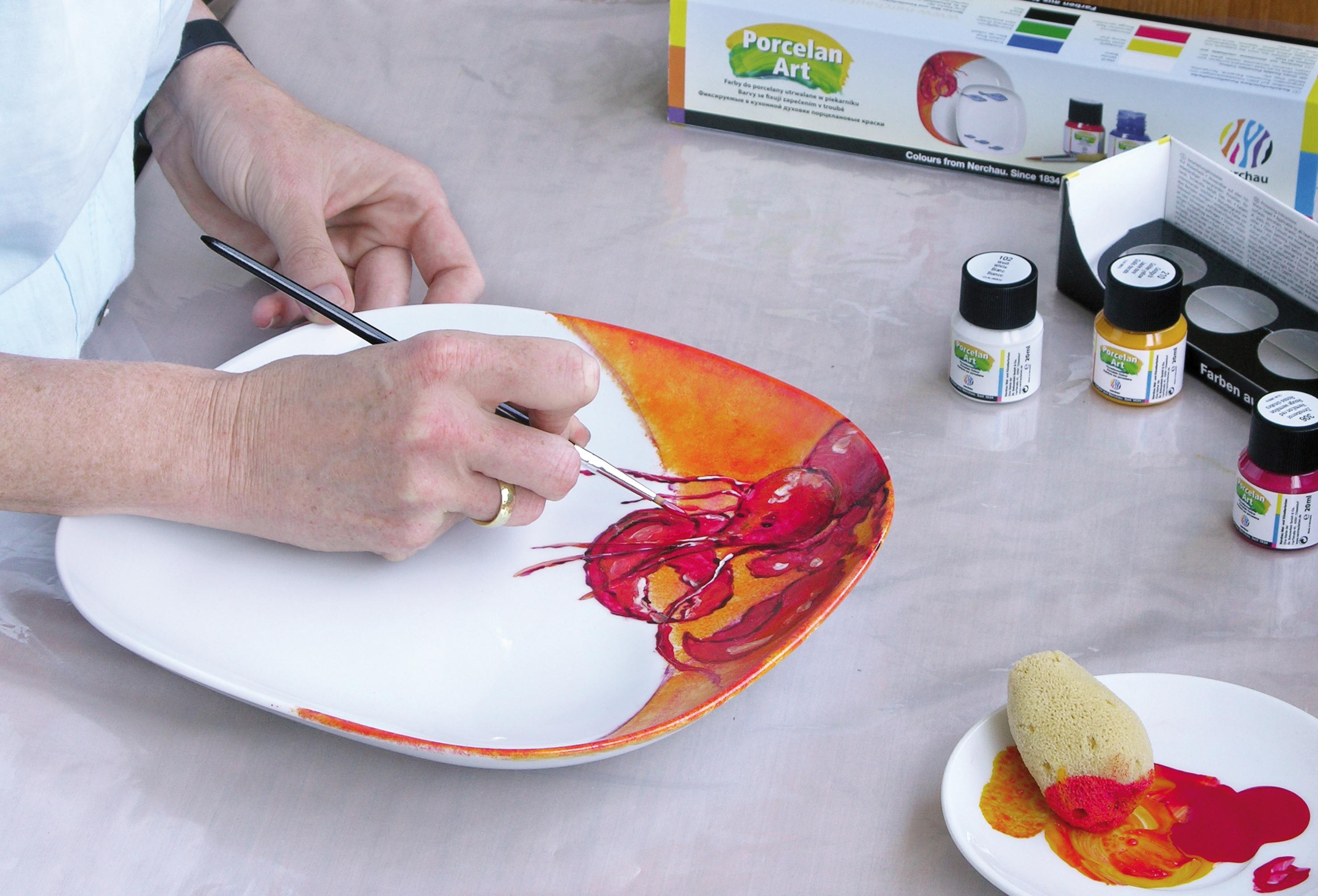 pinturas y rotuladores nerchau para cristal y cer mica