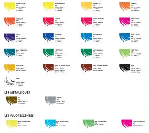 redimix carta de colores